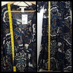 H&M Dresses - H&M Festival Boho 70's Style Maxi Dress Sz 4